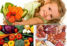 Chế độ dinh dưỡng của trẻ
