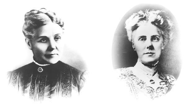 Bà Ann Maria Reeves Jarvis và con gái