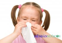 Trẻ bị cảm cúm, cảm lạnh