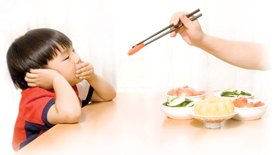 Trẻ bị biếng ăn